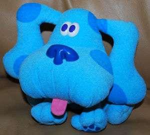 Nick Jr. Plush Stuffed Blues Clues Blue Puppy Dog