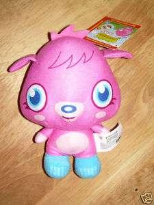 Moshi Monsters MOSHLINGS Plush POPPET + Online Code NWT