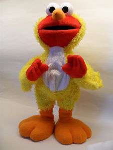 Sesame Street Chicken Dance Elmo Plush VERY CUTE