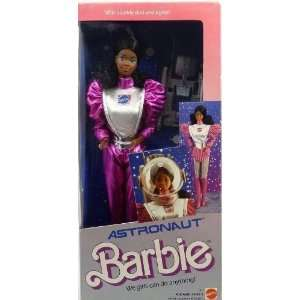 Barbie African American Astronaut Doll (1985 Mattel) Toys