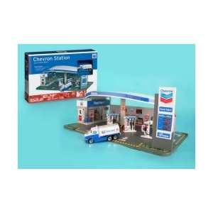 Real Toys Chevron Gas Service Station & Food Mart Toy