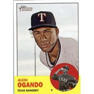 2012 Topps Heritage 303 Alexi Ogando   Texas Rangers