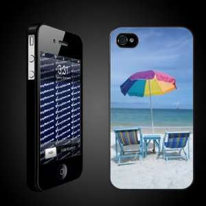 Beach Theme iPhone Case Designs Chairs on the Beach   iPhone