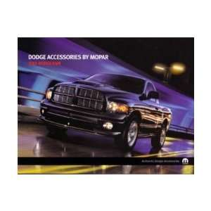 2005 DODGE RAM Accessories Sales Brochure Book Automotive