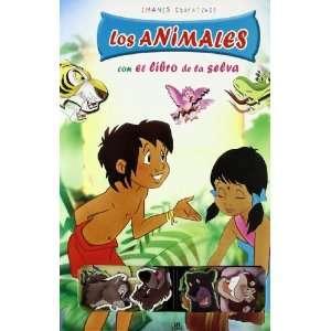 Los Animales Con El Libro De La Selva / the Animals With