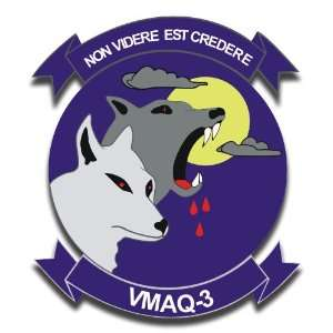 US Marine Tactical Electronic Warfare Squadron VMAG 3 Decal Sticker 5
