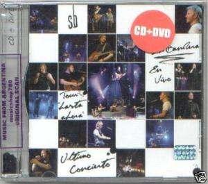CD + DVD SIN BANDERA EN VIVO ULTIMO CONCIERTO SEALED