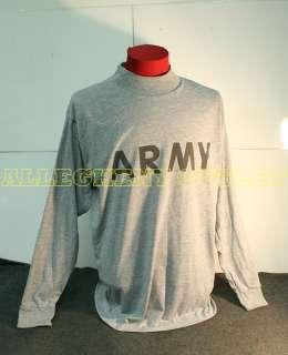 REFLECTIVE Army Grey Pt Long Sleeved T Shirt in Very Good Condition.