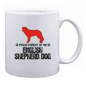 New  Proud Parent English Shepherd Dog  Mug Dog: Home & Kitchen