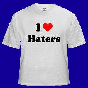 Love Haters Funny Rap Hip Hop Cool T shirt S M L XL