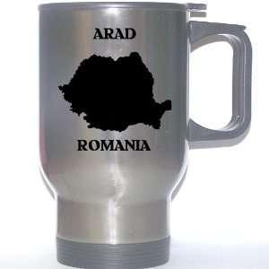 Romania   ARAD Stainless Steel Mug