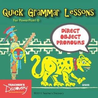 Direct Object Pronouns PowerPoint Spanish CD by Teachers Discovery