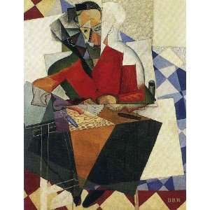 Made Oil Reproduction   Diego Rivera   24 x 32 inches   The Architect