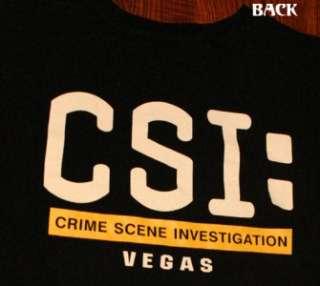CSI Las Vegas Television Show T Shirt XL