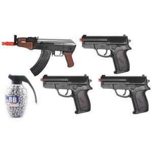 Set Spring AK47 Stubby Killer FPS 240 High Capacity Magazine,3 Spring