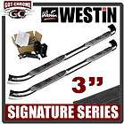 25 1870 Westin Chrome Nerf Bars Ford Explorer 2DR 1995 2000 (Fits