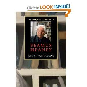The Cambridge Companion to Seamus Heaney (Cambridge
