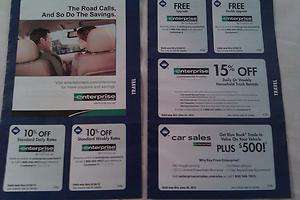 ENTERPRISE CAR RENTAL COUPON 10%OFF & DOUBLE UPGRADE exp JULY 2013