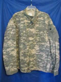 US ARMY JACKET Coat Combat Uniform ACU CAMO L L Long