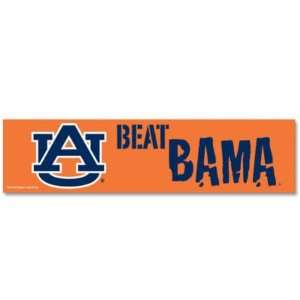 AUBURN TIGERS OFFICIAL LOGO BUMPER STICKER Sports