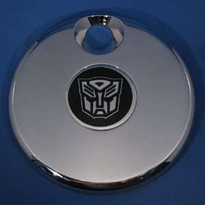 Aluminum Rear Emblem Badge with Transformers Autobots Logo: Automotive
