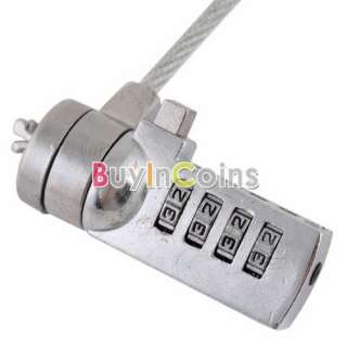 Notebook Laptop Lock Cable Chain for HP DELL Sony Apple Anti theft
