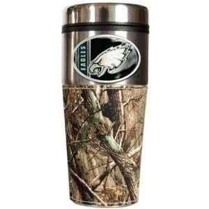 Philadelphia Eagles Realtree Camo Travel Coffee Mug