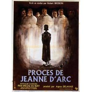 Trial of Joan of Arc Movie Poster (11 x 17 Inches   28cm x