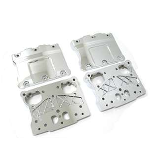 Chrome Rocker Box Cover Kit for 1999+ Harley Twin Cam