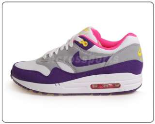 Nike Wmns Air Max 1 ND Club Purple 90 Running Shoes