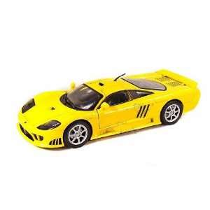 Motormax   Ford Saleen S7 (118, Yellow) diecast car model