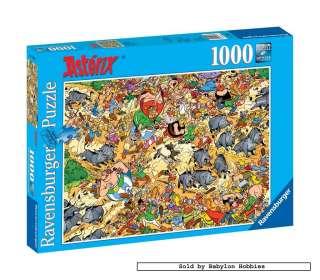 jigsaw puzzle 1000 pcs Asterix   Hunting Wild Boars 191635