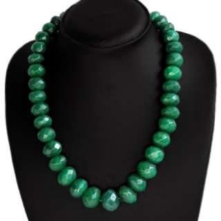 TRUELY FINEST TOP CLASS 798.00 CTS NATURAL FACETED GREEN EMERALD BEADS