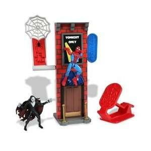 Amazing Spider Man Stunt System Broadway Theater Web Trap