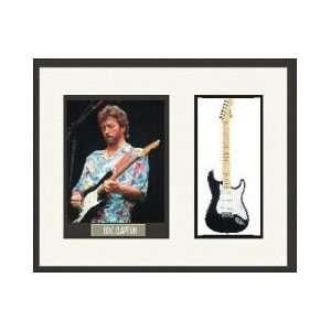 Eric Clapton/No.1 Blkie Guitar Frmd Presentatio 16x20