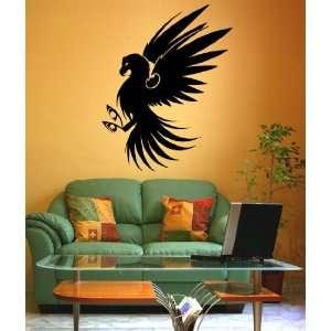 Vinyl Wall Decal Sticker Bird Eagle Hawk KRiley112
