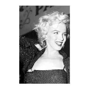 Marilyn Monroe (Beaded Dress) Movie Poster Print