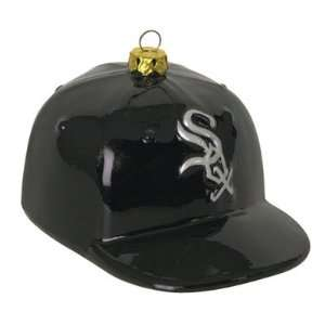 MLB Team Glass Baseball Hat   Chicago White Sox (Set of 2
