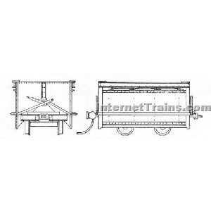 Grandt Line On30 Scale Koppel Mine Car 30 Gauge (2/ Pkg