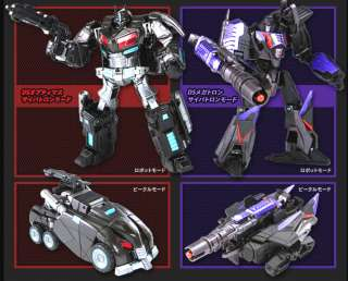 Transformers United Darkside Optimus Prime Megatron JPN