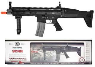 FN Herstal SCAR Automatic Electric Airsoft Rifle AEG   Black