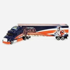 DETROIT TIGERS MLB 2008 Semi Diecast Tractor Trailer Truck