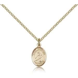 com Genuine IceCarats Designer Jewelry Gift Gold Filled St. Perpetua