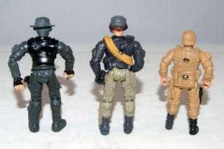 Inch Army Soldiers Action Figure Lanard Toys 3pc Lot