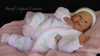 GORGEOUS REBORN NEWBORN BABY GIRL SWEET & SASSY BY DEE STASTNY