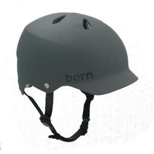 Bern Watts Hard Hat Helmet   Medium   Summer Matte Grey