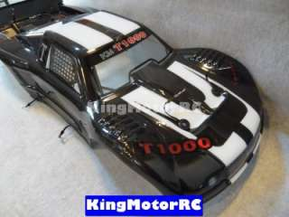 King motor Truck Body Fits HPI Baja 5T 5SC T1000, Rovan Terminator