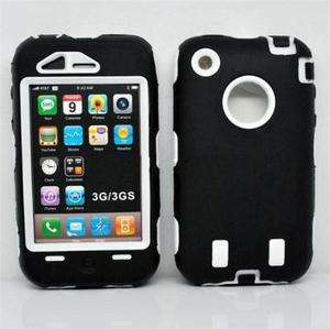 New Deluxe Silicone Rubber Hard Case Cover Skin Shape For IPHONE 3G