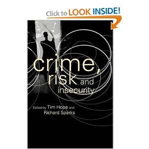 Discourse Tim Hope, Richard Sparks 9780415243438  Books
