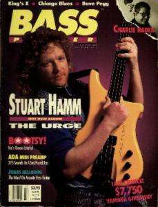 STUART HAMM   Bass Player Mag July/Aug 1991